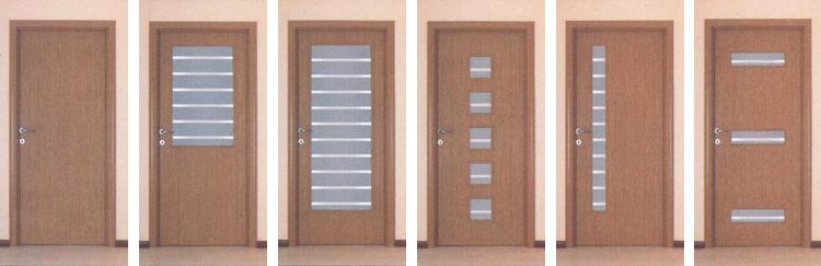 Sobna vrata – svetli hrast – tanja folija SVS13